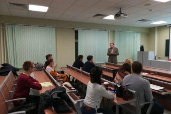 Выступление в Финансовом Университете при Правительстве РФ.